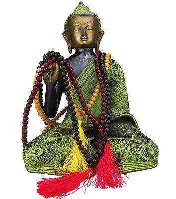 Mala Gebetskette Buddha Buddhismus Rosewood Sandelholz Mantra  online kaufen