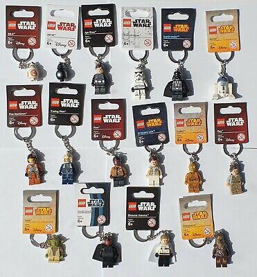 Lego Darth Vader/Stormtrooper/Boba Fett/R2 D2 - Star Wars (Pick Your Keyring)