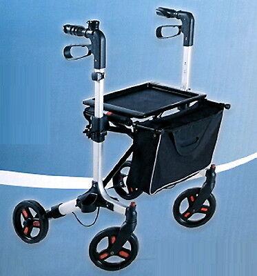 Rollator Gehhilfe Gehwagen  faltbar  einstellbare Griffhöhe max. Nutzergew 135kg