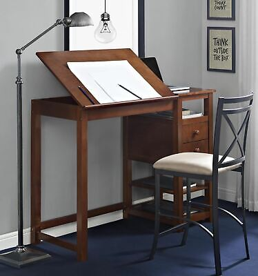 Drafting And Craft Counter Height Desk Art Table Crafting Drawing Wood Best New Best Craft Furniture
