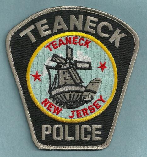 TEANECK NEW JERSEY POLICE SHOULDER PATCH