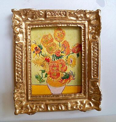 1:12 -Nostalgie Bild  Sonnenblumen (van Gogh)