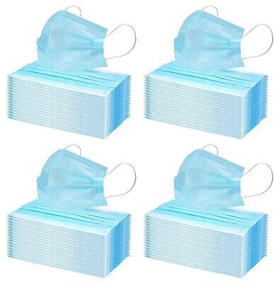 200x Einmal-Mundschutz 3 lagig Mundschutzmaske Infektionsschutz Atemschutz
