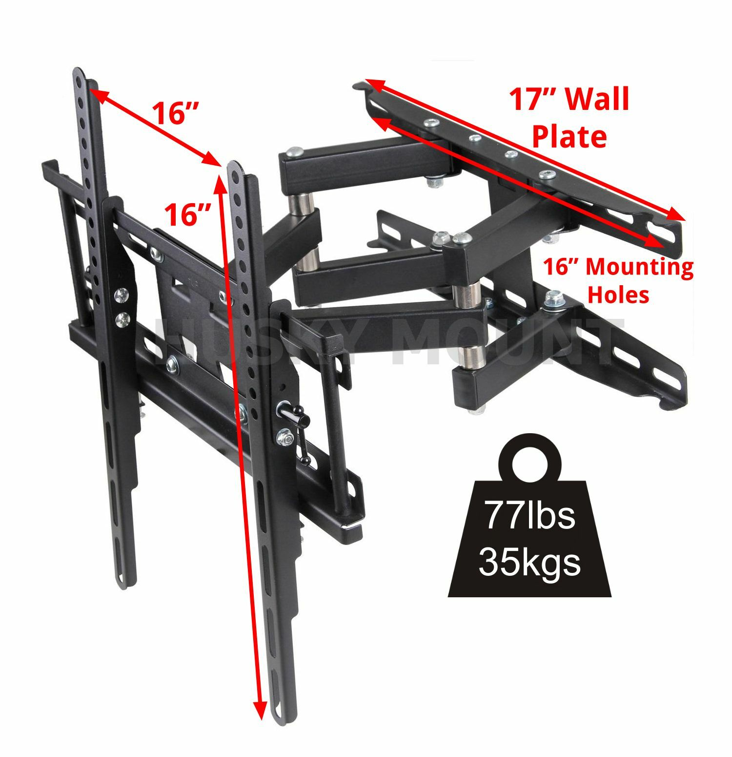 Купить Full Motion TV Wall Mount  VESA Bracket 32 46 50 55 60 inch LED LCD Flat Screen