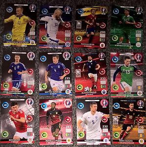 Panini UEFA EURO 2016 Adrenalyn XL Football Base Cards Pick 20