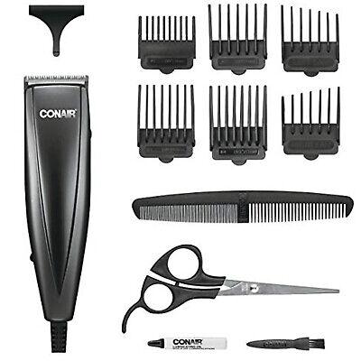 Máquina de cortar cabelo Conair Professional Men Clippers Home Cutting Barber Kit Trimmer