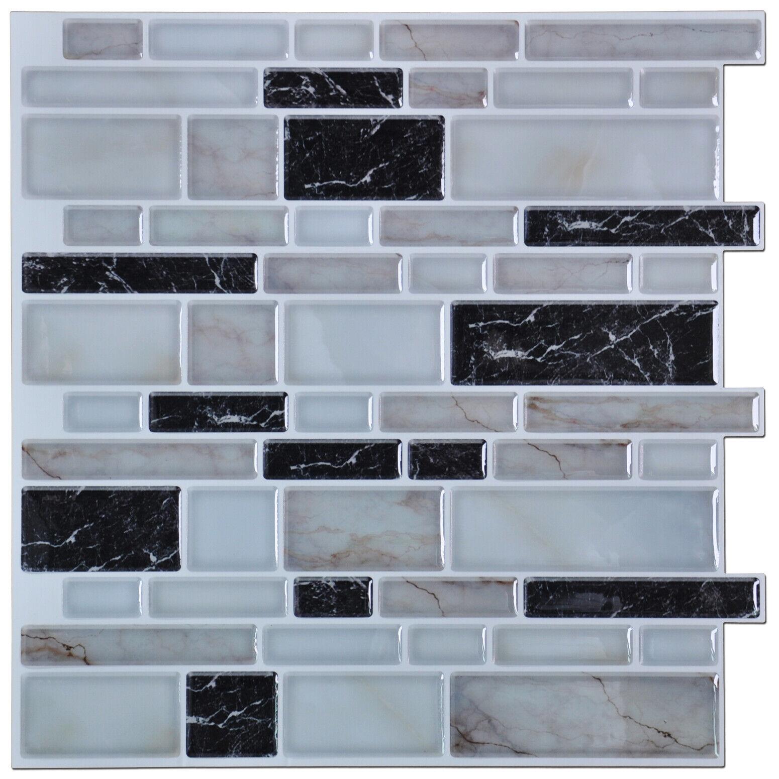 """Piastrelle Pvc Adesive Cucina dettagli su adesive muro piastrelle per cucina posteriore, 12""""x12"""" grigio  piastrelle (6)- mostra il titolo originale"""