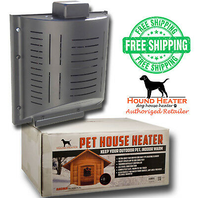 Hound Heater Deluxe Plus Dog House Furnace Official Pet House Heater