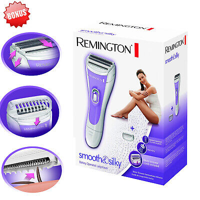 Electric Women's Shaver Leg Razor Ladies Remington Dry Wet Smooth Battery (Best Womens Shavers Electric Woman)