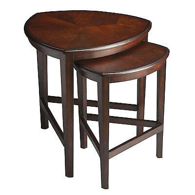 TABLES - HAVERSHAM NESTED TABLES - SET / 2 - CHOCOLATE FINISH -  FREE SHIPPING*
