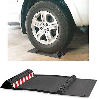 Park Right Parking Mat Garage Wheel Stop Car Wheel Stopper Block Trailer Tire (Garage Car Mats)