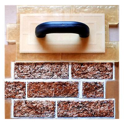 Polyurethane Vertical Stamp Bricks Stone Concrete Cement Imprint Texturing