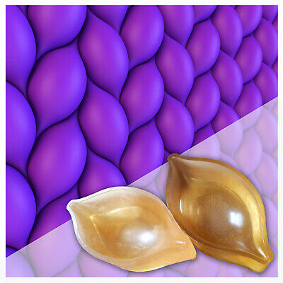Set Of Polyurethane Molds Forms Corn Decorative Concrete Cement Design Wall