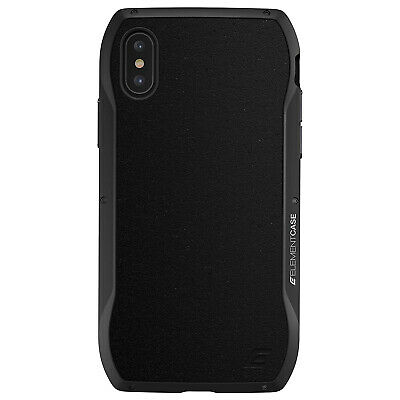 Element Case ENIGMA Tough Metal Rugged Rear Cover for Apple iPhone X...