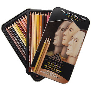 Prismacolor Premier Color Pencil Portrait Tin Set/24