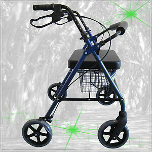 Mobility-Walker-EXTRA-WIDE-220-KG-RATED-Blue-BRAND-NEW