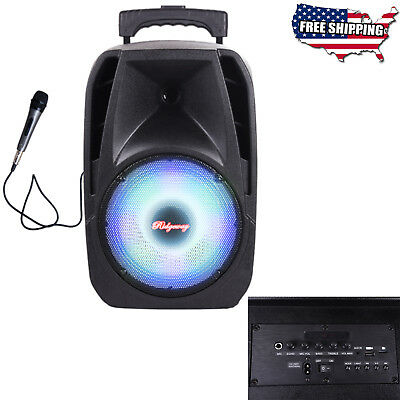 BriteLite iRocker XS-250 8 Bluetooth PA Speaker with Mic NEW