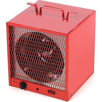 Industrial 5600W Electric Utility Heater, Fan Forced 600 Sq Ft Commercial Garage (Commercial Fan Forced Heater)