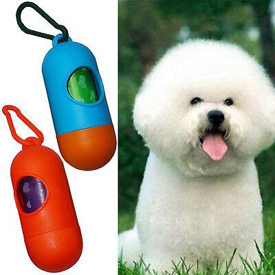 Wow Pet Dog Dogs Bone Shape Dispenser Box Clean-up Waste Bag Carrier Holder Case