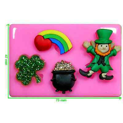 St Patrick's Day Pot of Gold Leprechaun Mould by Fairie Blessings (St Patricks Day Pot Of Gold)
