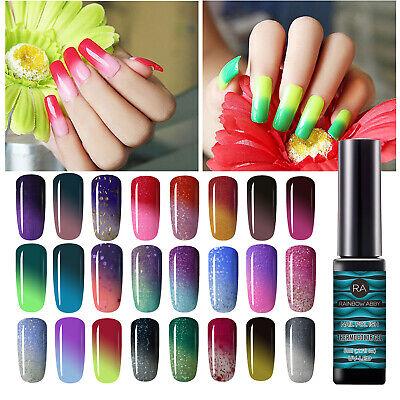 Thermal Color Changing Chameleon Gel Nail Polish Soak Off UV