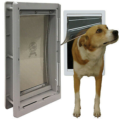 Pet Door Extreme Weather Dog Medium Exterior Cat Entry Dogs Heavy Duty 7x11 Inch