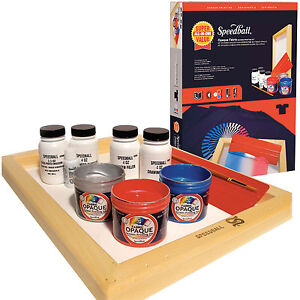 speedball screen printing kit instructions