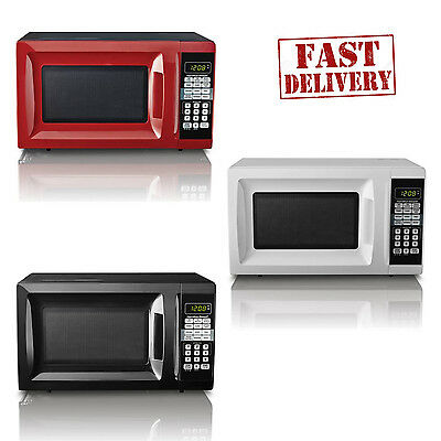 Hamilton Beach 0.7cu ft Digital LED Countertop Microwave Oven Dorm 700W Kitchen
