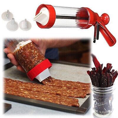 Beef Jerky Maker Homemade Commercial Meat Gun Kitchen Work Jumbo Seasoning Kit Beef Jerky Maker