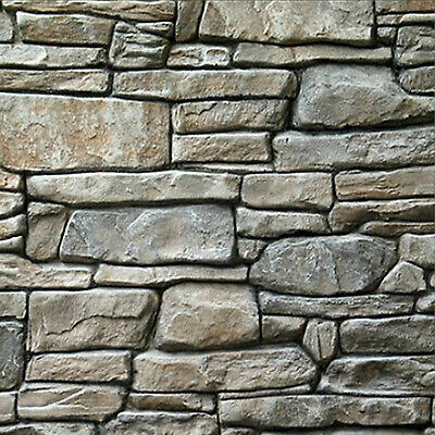 Vertical Stamp Stone Decorative Concrete Cement Imprint Texture Stamp Mat