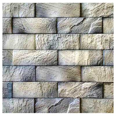 Polyurethane Mold Form Quartzite Brick Decorative Concrete Cement Design Wall