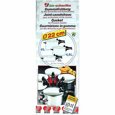 Beka Dichtungsring für Schnellkochtopf Braun & Kemmler 22cm Ring |NEU