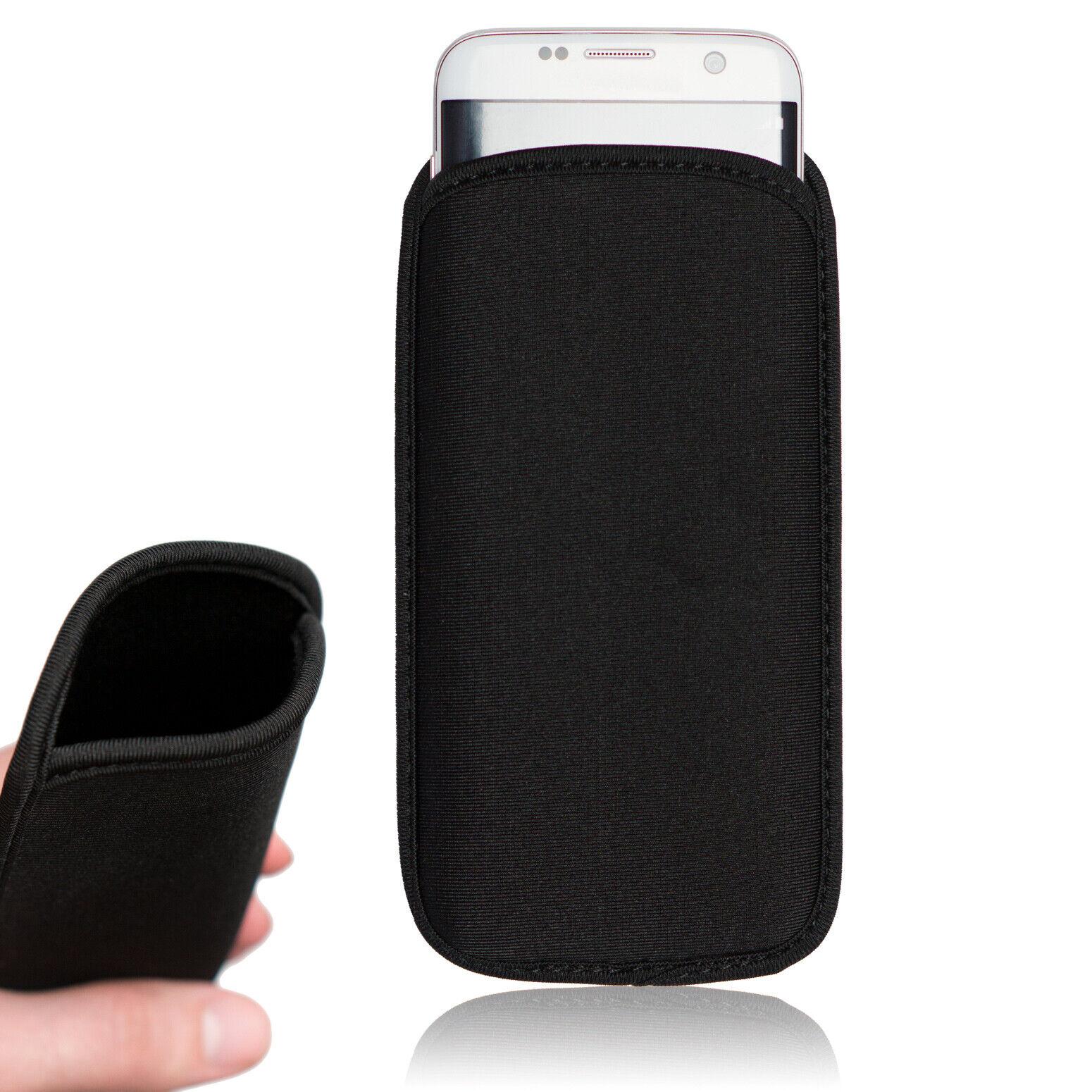 Neopren Handysocke Schutzhülle Handy Hülle Tasche Etui Case Cover Schale Etui