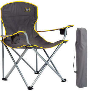 Heavy Duty Big U0026 Tall Outdoor Oversized XL Chair 500 Pds   Camping, Fishing,
