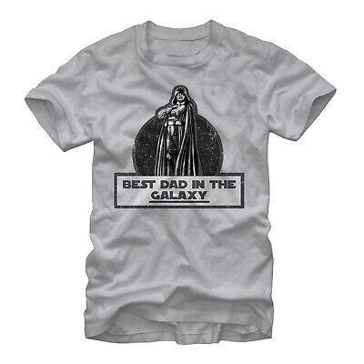 Star Wars Darth Vader Best Dad Mens Graphic T Shirt, Size M, (Darth Vader Best Dad Shirt)