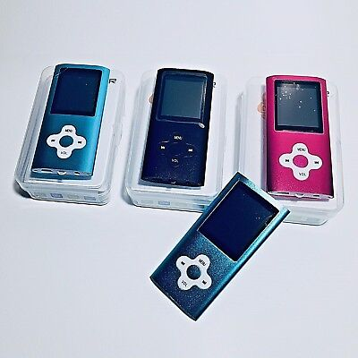 - MP3 Player Ultra Slim Music MP4 Player FM Radio Voice Record Video Play 64GB