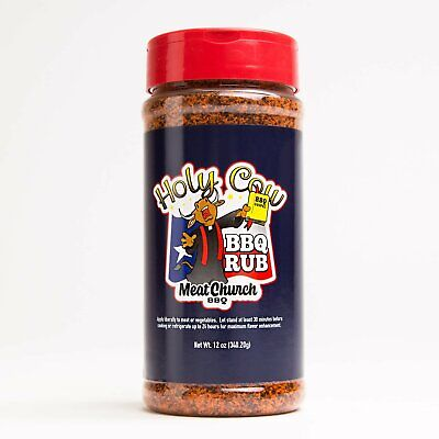 BBQ RUB - Meat Church - Holy Cow BBQ Rub - FREE POST!!