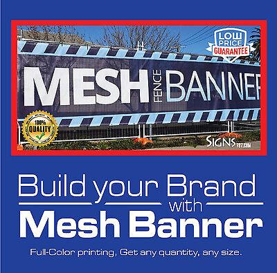Mesh Banner Custom Printing **FREE - Printed Banners