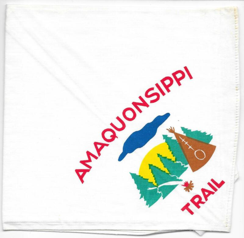 Amaquonsippi Trail Neckerchief Boy Scouts of America BSA