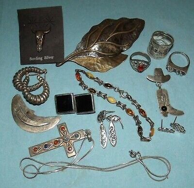 Carnelian /& Quartz Sterling Choker Taxco 925 Jewelry 950 35 GR