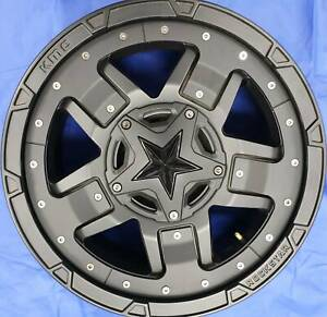 SET OF FOUR (4) KMC 20x9 6/114.3 et18 XD827 ROCKSTAR 3 Nambour Maroochydore Area Preview