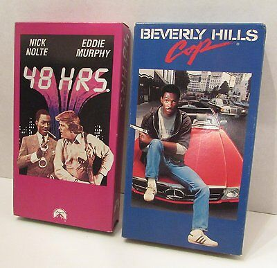 48 Hours   Berverly Hills Cop  V H S
