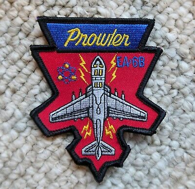 "PROWLER EA-6B NAVY USMC PATCH 3 1/8""x3.75"" MILITARY"