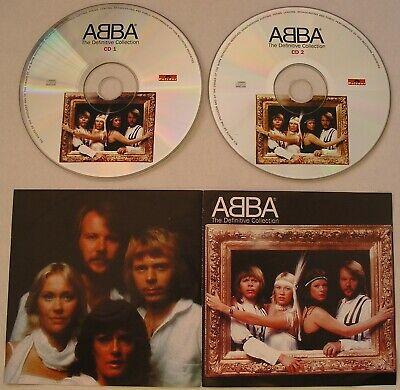 ABBA THE DEFINITIVE COLLECTION DOUBLE CD *RARE PRESS*