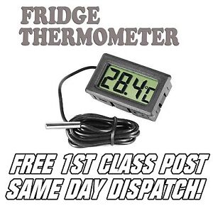 Digital Thermometer with LCD for Fridge / Freezer