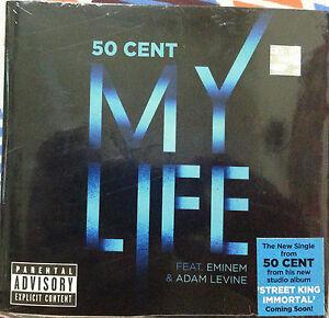 50-Cent-My-Life-Feat-Eminem-Adam-Levine-Brand-New-Singles-Audio-CD