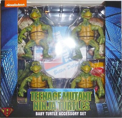 BABY TURTLES ACCESSORY SET Teenage Mutant Ninja Turtles 4