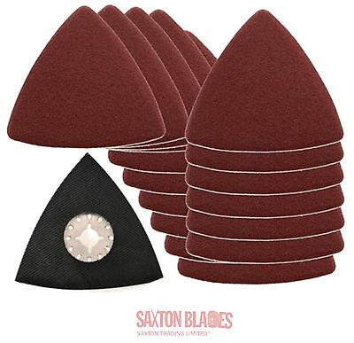Saxton Blades Delta Sanding Set For Fein Multimaster Bosch Oscillating Multitool