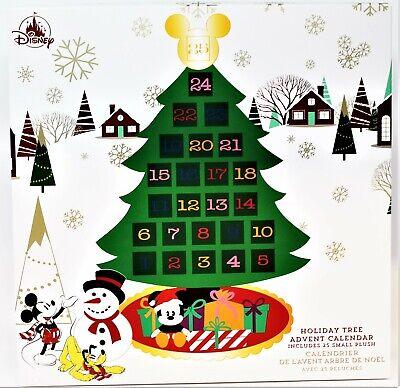 Disney Parks Disneyland Resort HOLIDAY TREE ADVENT CALENDAR 25 Plush Toys NEW