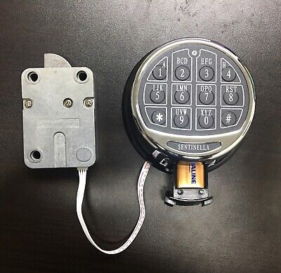 Push Button Keypad Lock For Gun Safe Gun Vault Build Your Own Safe or Lock Box